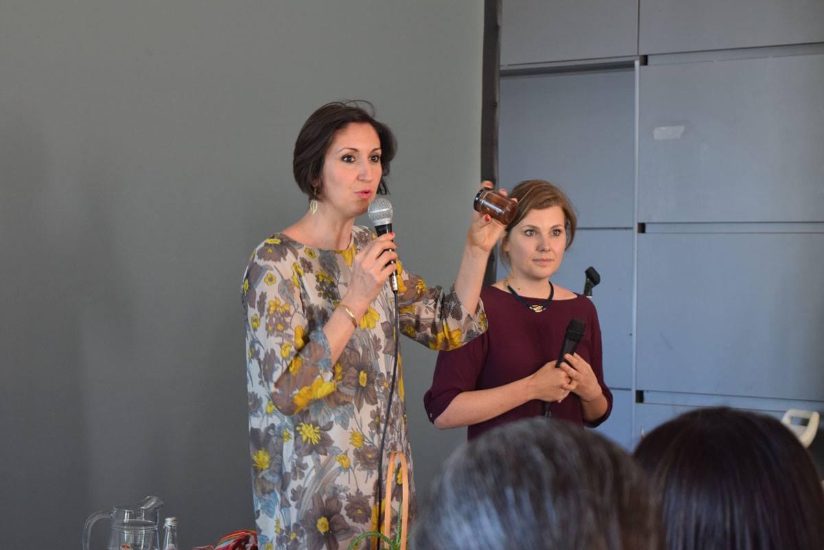 Lucia Cuffaro ed Elena Tioli