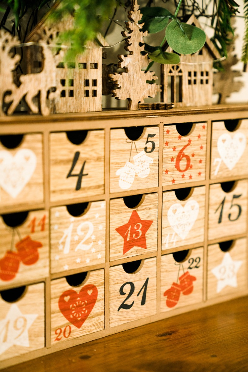 Calendario Avvento fai da te
