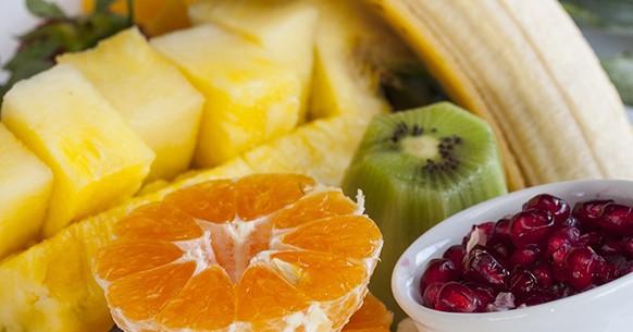 Ananas e altri frutti