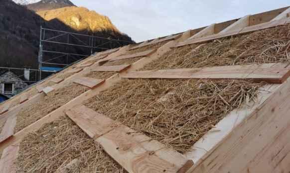 Case di riso per edilizia green
