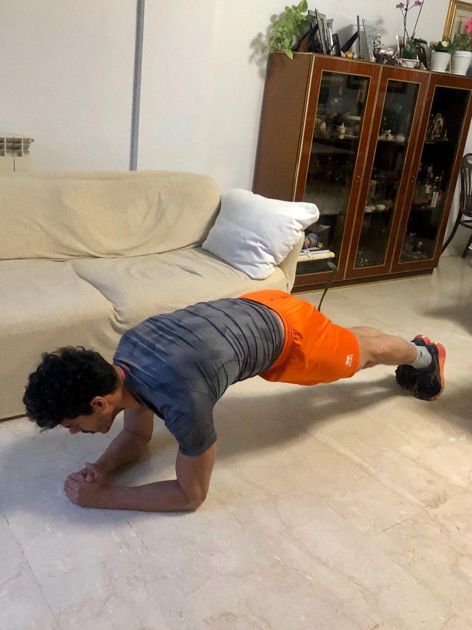 Sequenza Plank Statico