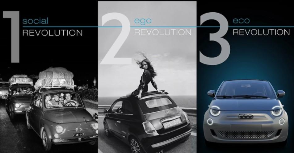 nuova 500 eco revolution