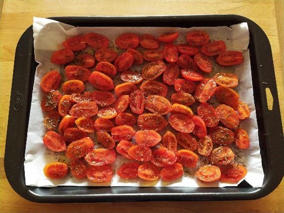 Pomodorini Confit: la preparazione (opzionale)