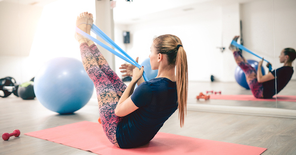 Elastici fitness Leg Rise
