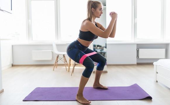 Elastici fitness Squat
