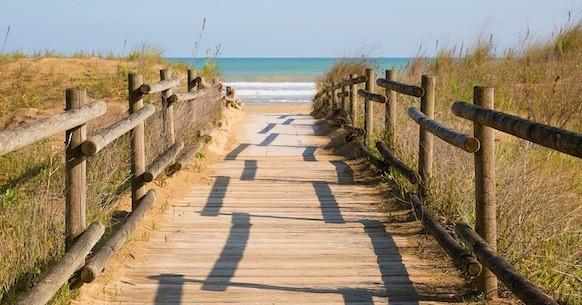 Spiagge accesso mare