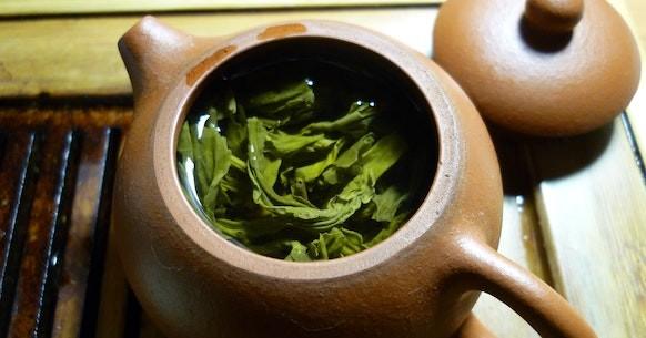 Teiera tè verde