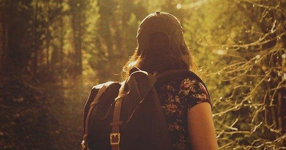 Escursione nei boschi