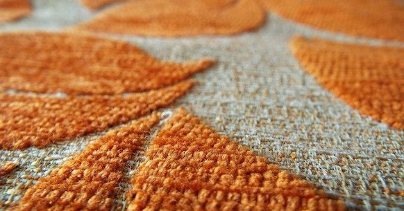 Tessuto arancio