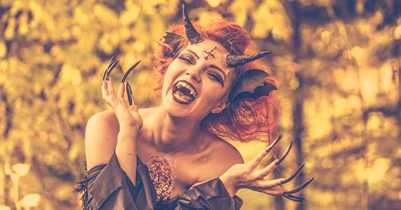 Halloween, demone