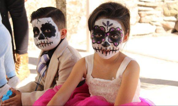Halloween, trucco per bambini