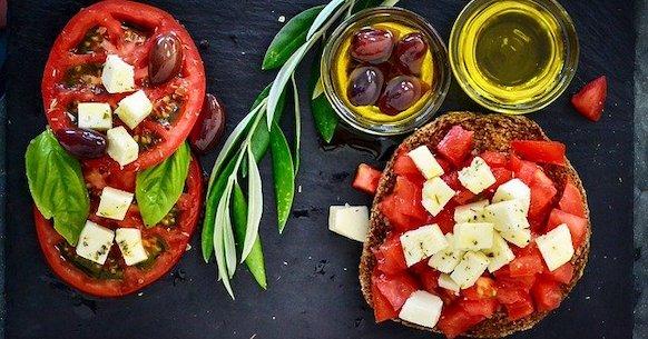 Dieta Mediterranea olio pomodoro