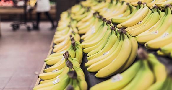 Banane al supermercato