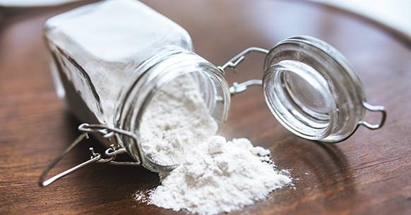 Bicarbonato in barattolo