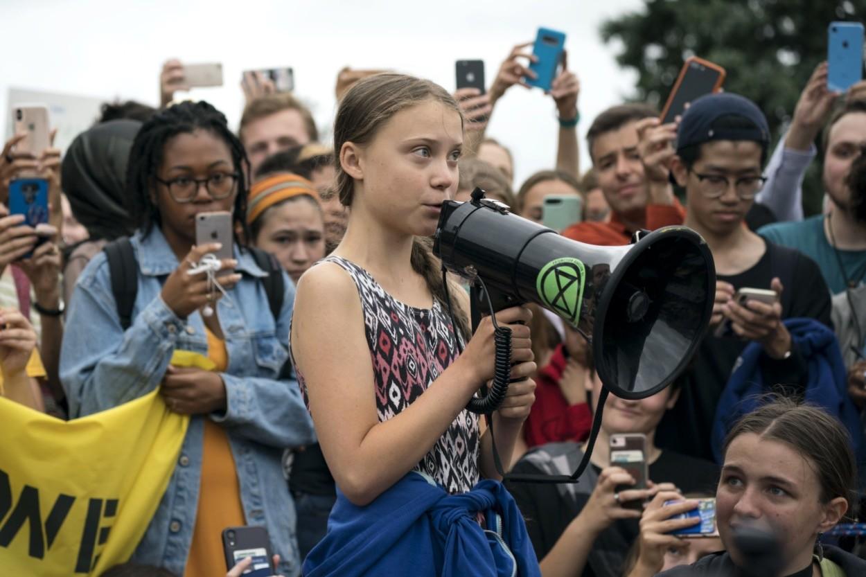 Cambiamenti climatici Greta Thunberg attivismo