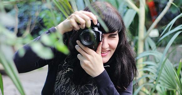 Fotografare orto con macchina fotografica