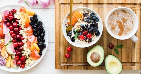 Colazione sana frutta