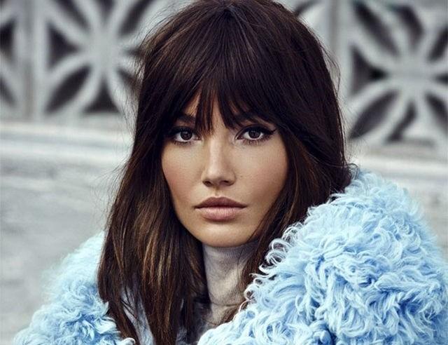 La frangia e il ciuffo ai capelli: le tendenze per l ...