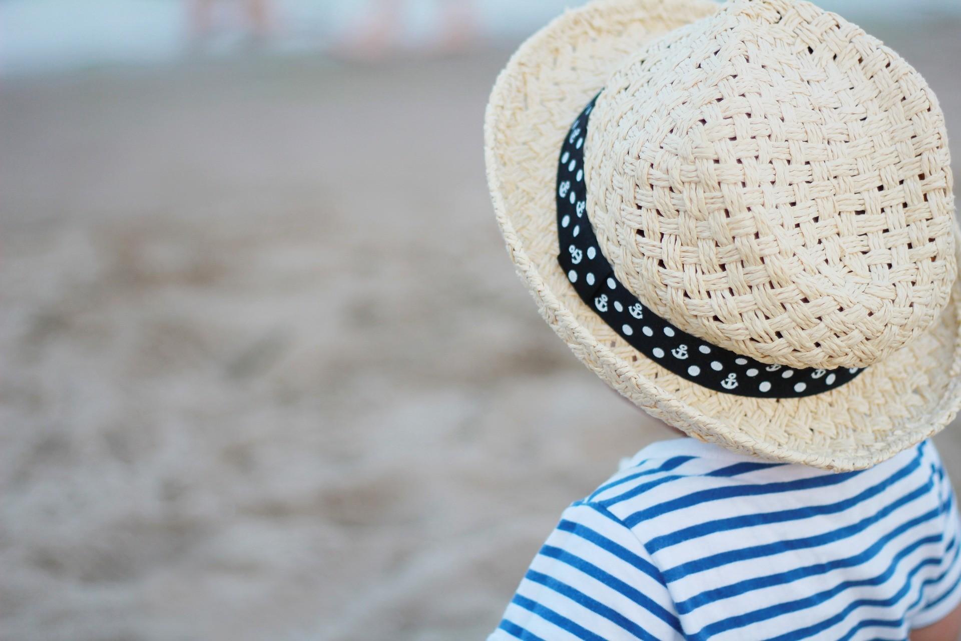 Neonati in spiaggia