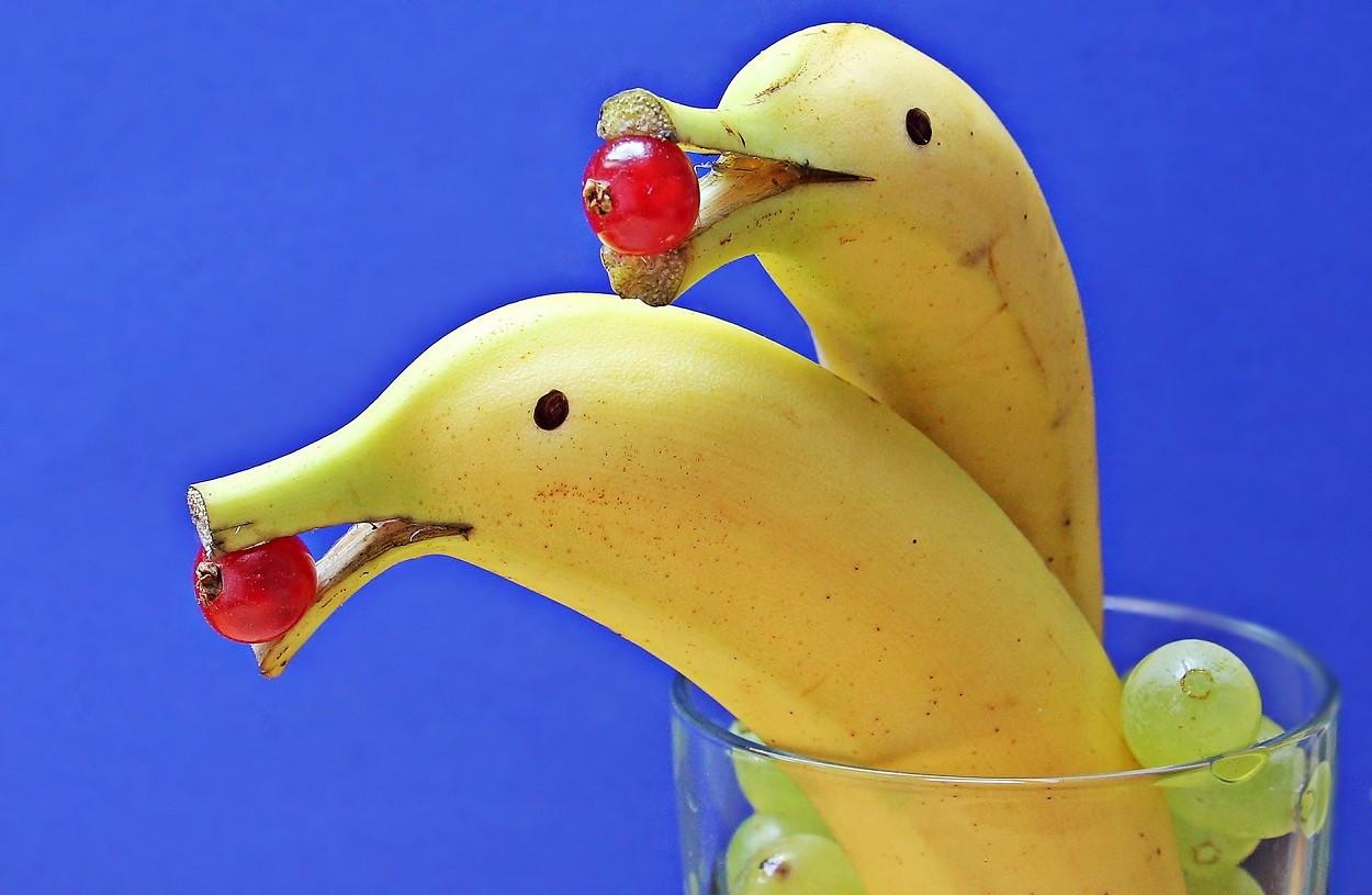 potassio alto banane e ribes